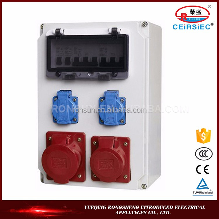 High reliablity Manufacturer waterproof mobile power socket box