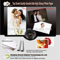 Dual Glossy Photo Paper / Double-sided Card Paper, sheet size
