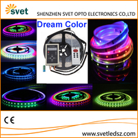 SMD 5050 DC 5V 30 Leds WS2812 IC Full Dream Color RGB Changing Computer Controlled Led Strip Lighting