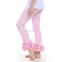kaiya skirt e-commerce firm wholesale posh children clothes solid color girls ruffle pants many colors girls icing leggings.