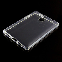 Clear Crystal TPU Gel Soft Back Cover Case For Blackberry Passport Silver Edition