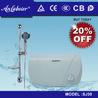 Household Bathroom save money adjust temperature electrical instant water heater for hotel