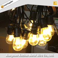 trustworthy china supplier construction E26 non-suspension light string