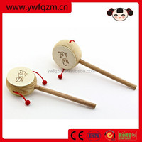 factory direct rattle toy wooden baby rattle