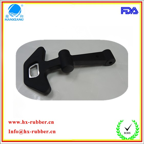 Factory making new T shape rubber latch / tool box latch / toggle latch products