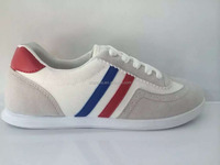 Preppy Women's Athletic Shoes With Breathable and Striped Design