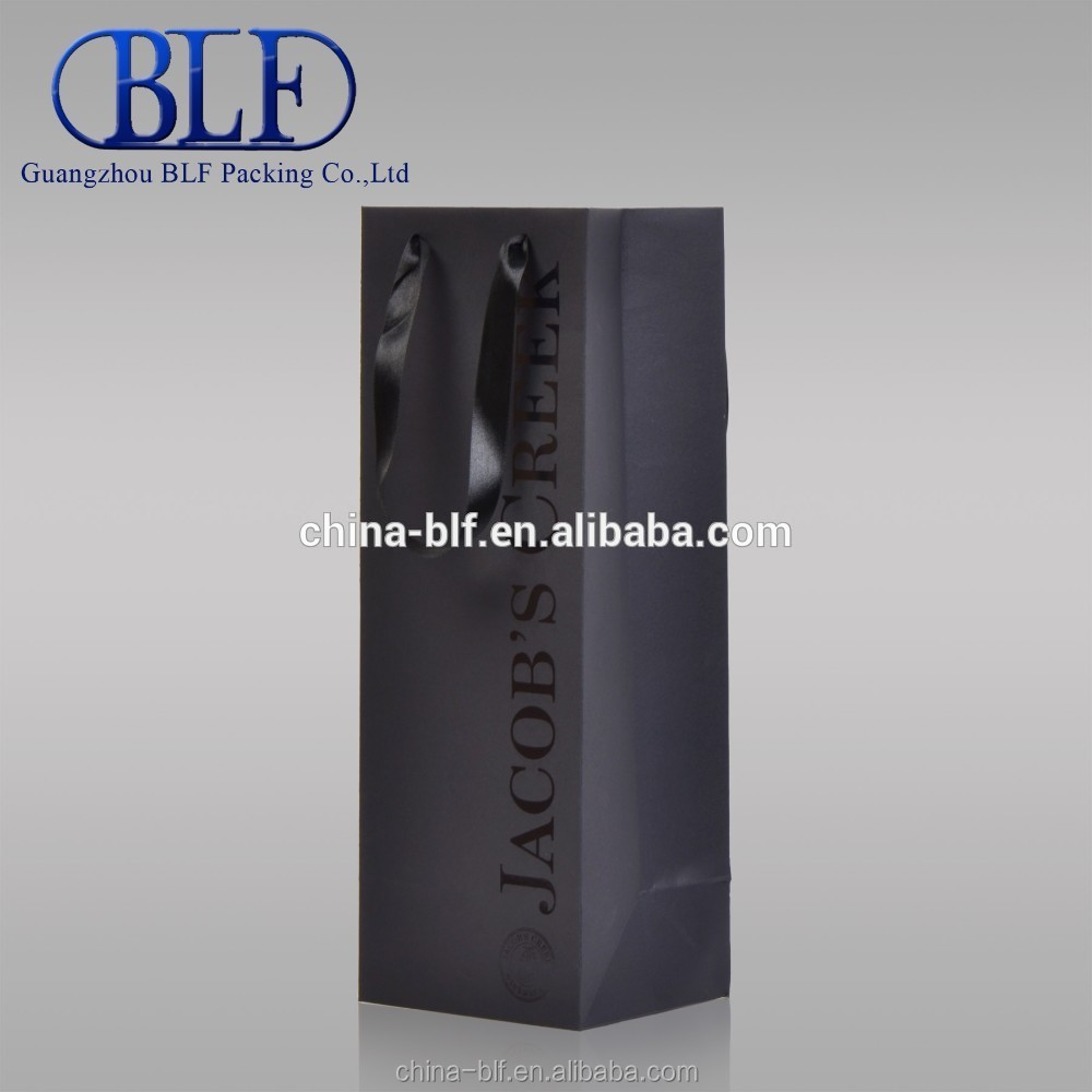 Wholesale Wine Bottle Paper Bag With Panties