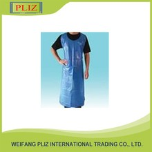 colourful custom LDPE/PVC plastic apron