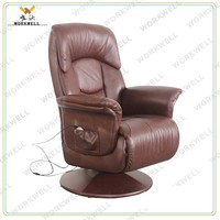 WorkWell luxry pu leather relax recliner massage chair Kw-R35