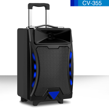 Professional active portable 1000w speakers
