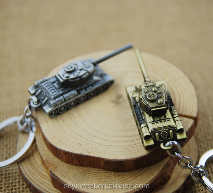 Hot sale world game tank movie keychain, wholesale tank keychain(SWTJU1073)