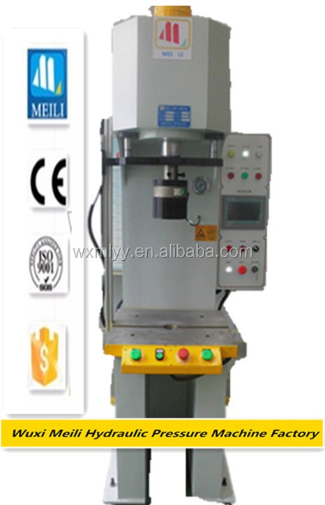 CE Certificated C frame hydraulic press machine 100T/Automatic Punch Press