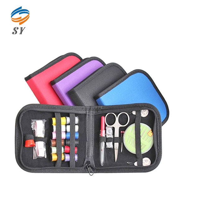 Top grade wholesale novelty small travel sewing kit