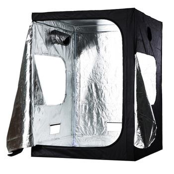 "Orientrise 150x150x200cm factory directly sale hydroponic grow tent with plastic conner (60""x60""x78"")"