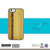 Factory supply low price customized blank laser case soft tpu wooden case for iphone 6 shining wood laser case