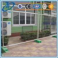 Cheap Security temporary security fence , pvc coated mobile fence