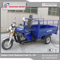 LZSY brand heavy load 200cc cargo tricycle/Chinese adult three wheel motorcycle cargo/Loncin engine three wheel cargo motorcycle
