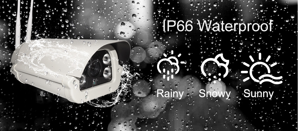 Powerful bullet outdoor indoor 4G wifi security  IP cameras