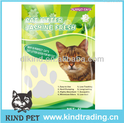 pet shop products natural bentonite fragrance cat litter