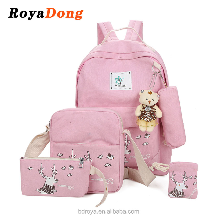 Royadong <strong>Backpack</strong> Manufacturers China Canvas Young Women <strong>Backpacks</strong>
