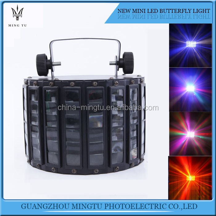 Sound activated DMX control RGBW LED stage light for disco party DJ beam light music show laser lighting effect