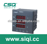 three digit volt digital panel meters