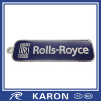 good quality custom metal name keychain in China