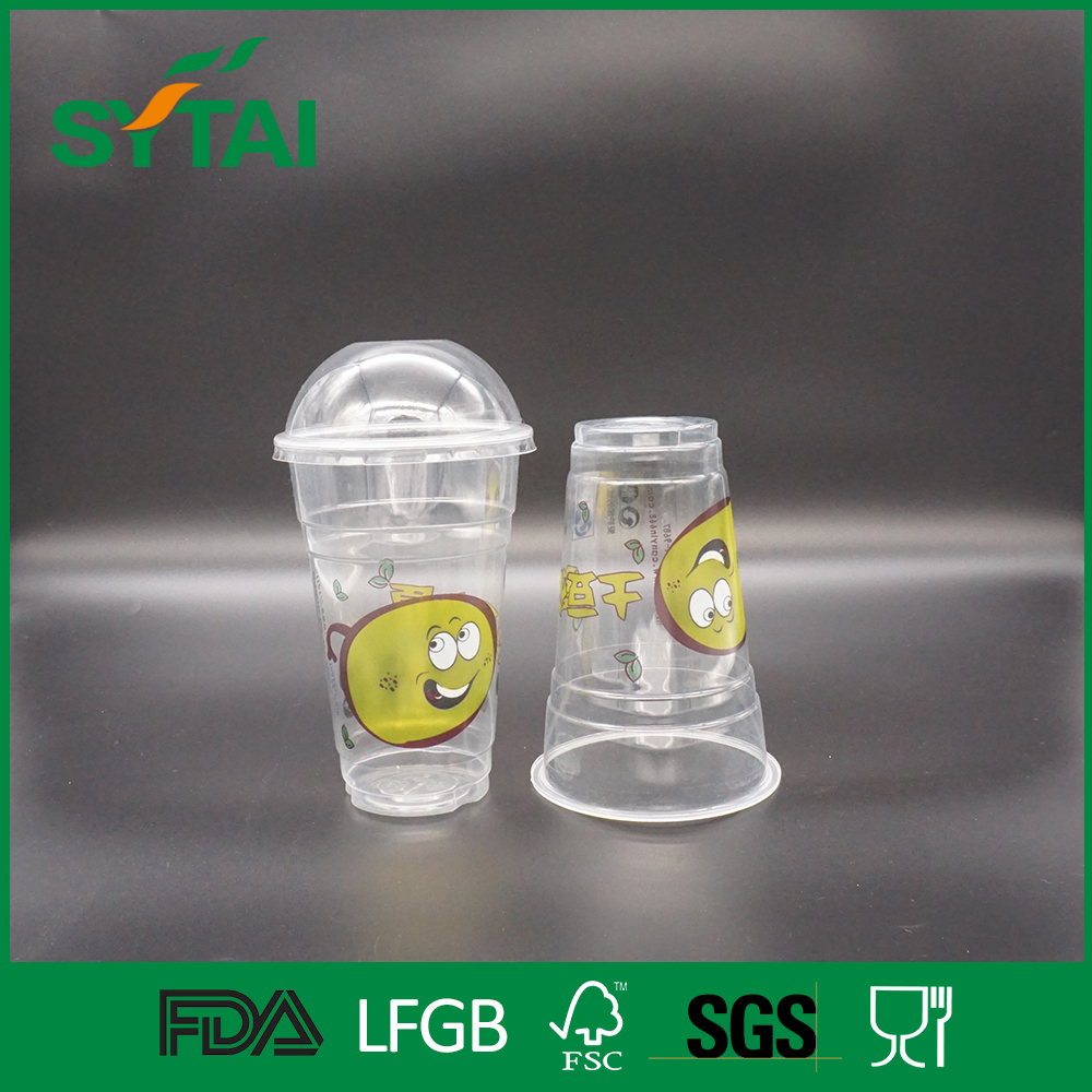 Food grade Eco pack pet pla cup from 1oz 4oz 6oz 8oz 20oz offer