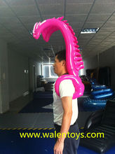 Alibaba China inflatable odd wings,promotion odd wings,promotional toys,EN71 approved