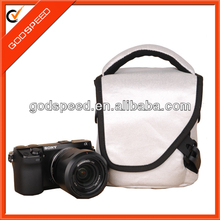waterproof PU vintage leather camera bag for Sony