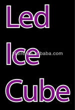 Led light ice cube for for party decoration