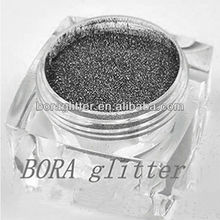 Holographic Black Glitter Pigment Powder for soap