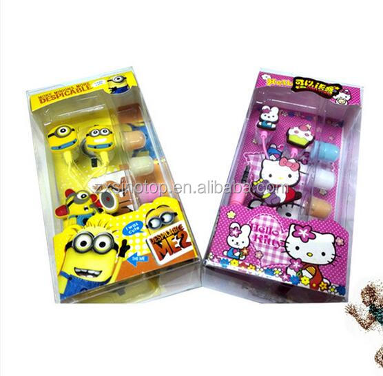 Fashion cartoon earphone splitter free samples