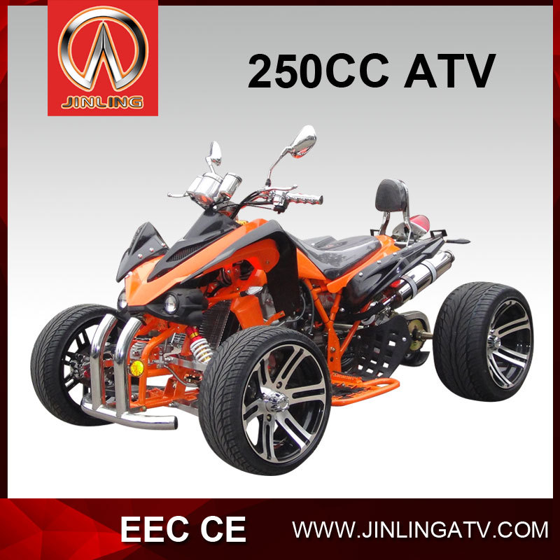 chinese loncin engine four wheel 250cc road legal atv