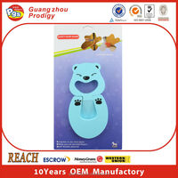 Baby furniture safety decorative rubber door stopper for baby furniture