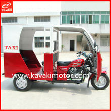 High Quality Passenger Tricycle Bike / Three Wheel BAJAJ Style Trike Classic Tricycle Taxi