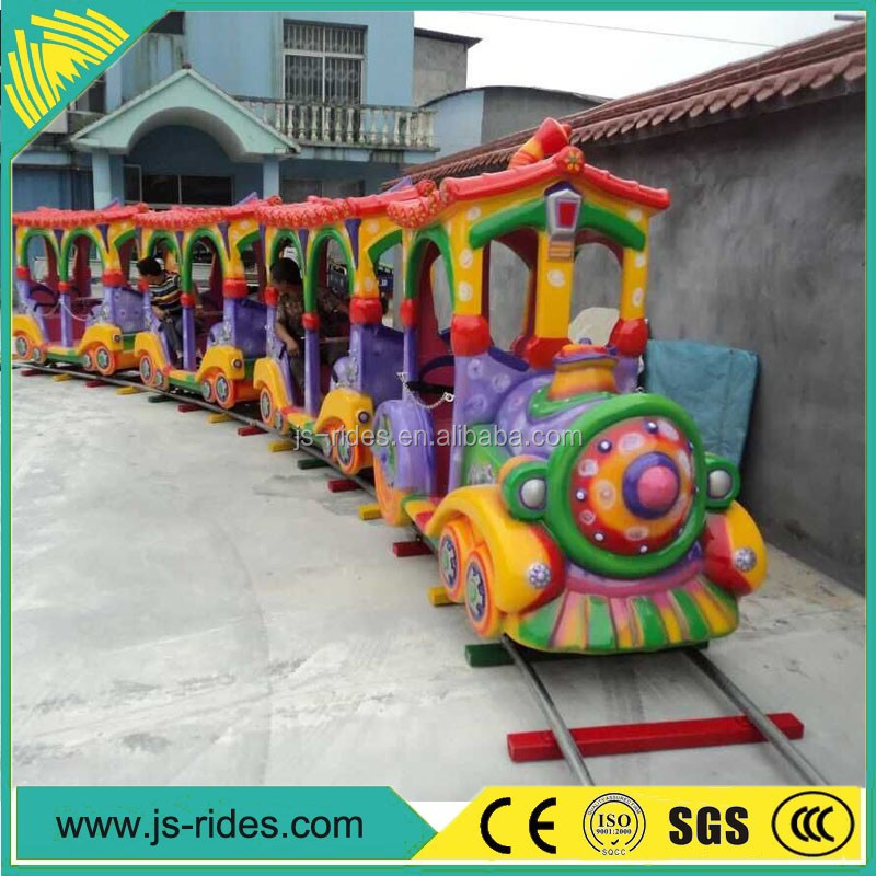 china carrousel electric toy train sets in amusement park play park kids