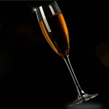 Eco Friendly led champagne flute,mini crystal champagne glass for holiday