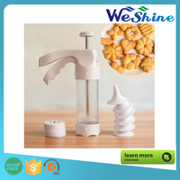 Plastic Chip Cookie Press Machine Biscuit Maker Decorating Tool