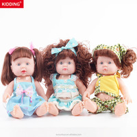 9.4Inch Wholesale Baby Toys Realistic Educational dolls for Kids