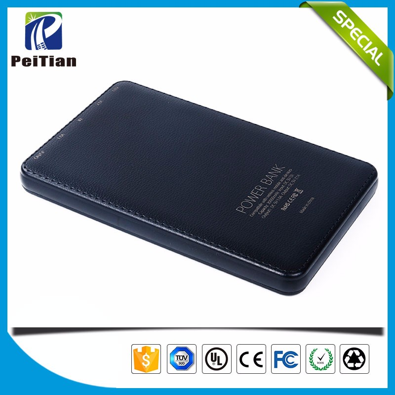 Dual usb power bank 20000mah portable lcd battery bank
