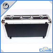 MLDGJ558 Black Office Travel Heavy Duty Aluminium Box Tools Carrying Case For Instrument Storage