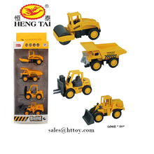 1:60 alloy construction truck 4 model ,engineer cars for kids