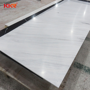 artificial stone solid surface slab cultured marble hotel tub surrounds