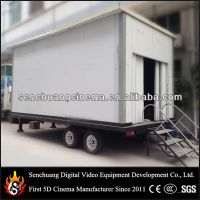 Hot sale malaysia 6D cinema in truck