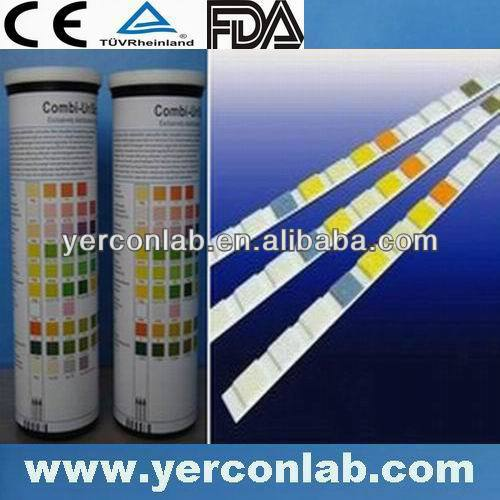 urine reagent test strips 10 para CE ISO