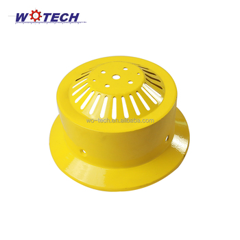 Industrial LED metal spinning lampshades and aluminium reflector