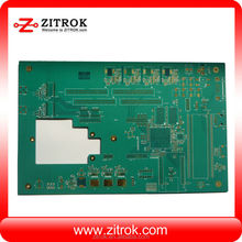 Custom solar LED Light pcb controller double side pcb assembly,heat pump controller pcb manufacture in Shenzhen