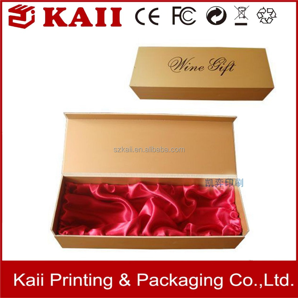 OEM wholesale wine paper gift packaging box cardboard supplier in China