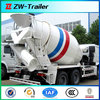 Chinese factory competitive price 2 axles concrete mixer truck price